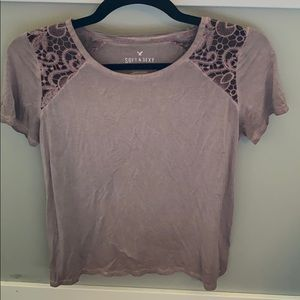 American Eagle Acid Wash T-shirt Small